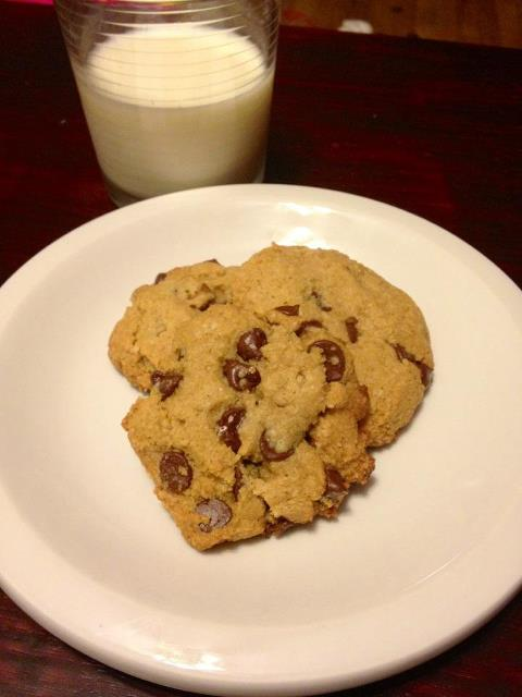 REAL-good chocolate chip cookies